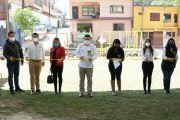 DESPUÉS DE 9 AÑOS AHORA SÍ HAY TECHADO Y JUEGOS INFANTILES EN EL CAIC LOS TEZONTLES.