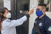 POR COVID-19, PREVALECEN MEDIDAS PREVENTIVAS EN LA POLICÍA AUXILIAR