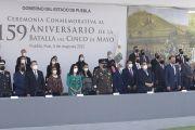 PRESIDE MBH CEREMONIA AL 159 ANIVERSARIO DE LA BATALLA DEL 5 DE MAYO
