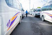 DIARIAMENTE SMT VERIFICA SANITIZACIÓN DE 150 UNIDADES DE TRANSPORTE PÚBLICO