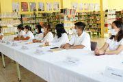 CAPACITAN A PERSONAL BIBLIOTECARIO PARA FOMENTAR LA LECTURA EN NIÑAS Y NIÑOS DE XICOTEPEC.