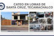 EN TECAMACHALCO, FISCALÍA ASEGURÓ VEHÍCULOS Y AUTOPARTES ROBADAS