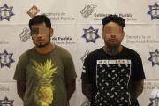 CAPTURA POLICÍA ESTATAL A DOS PRESUNTOS NARCOMENUDISTAS QUE ENVIABAN DROGA A VERACRUZ