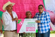 LUPITA VARGAS LLEVA BENEFICIOS A MECATLÁN, COMUNIDAD ABANDONADA POR ANTERIORES ADMINISTRACIONES.