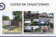 RECUPERA FISCALÍA 1,500 CAJAS DE PRODUCTOS ROBADOS Y VEHÍCULOS