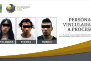 CATEO EN MAYORAZGO DERIVÓ EN PRISIÓN DE 3 PERSONAS CON DROGA