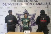 """DETIENE POLICÍA ESTATAL A """"EL ROY"""", PRESUNTO NARCOMENUDISTA"""