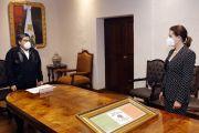 DESIGNA TITULAR DEL EJECUTIVO A ANA LUCÍA HILL COMO SECRETARIA DE GOBERNACIÓN