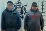 EN SAN MARTÍN, POLICÍAS ESTATAL Y MUNICIPAL DETIENEN A DOS PRESUNTOS NARCOMENUDISTAS