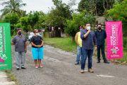 El TRABAJO CONJUNTO PERMITIÓ INICIAR REHABILITACIÓN DE ALCANTARILLADO SANITARIO EN LA CEIBA